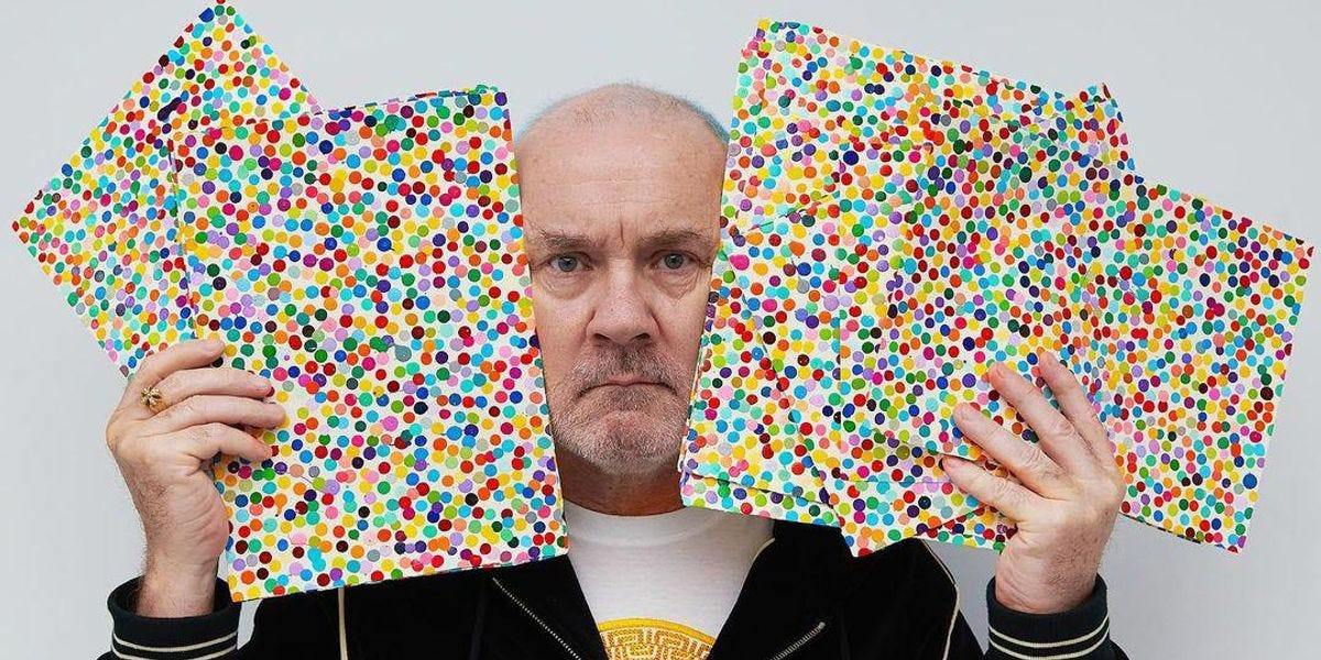 """Damien Hirst Takes High Art to the Crypto Market With """"The Currency"""" - PAPER"""