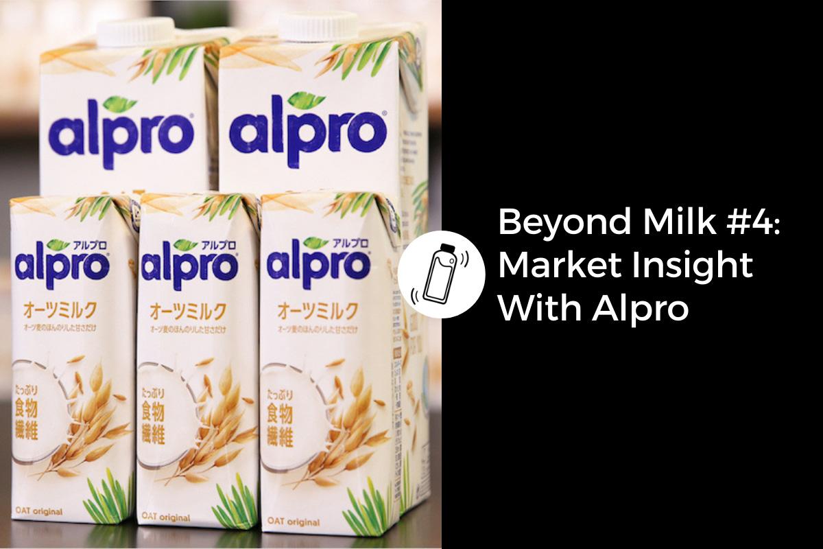 Oat milk in Japan: Alpro interview
