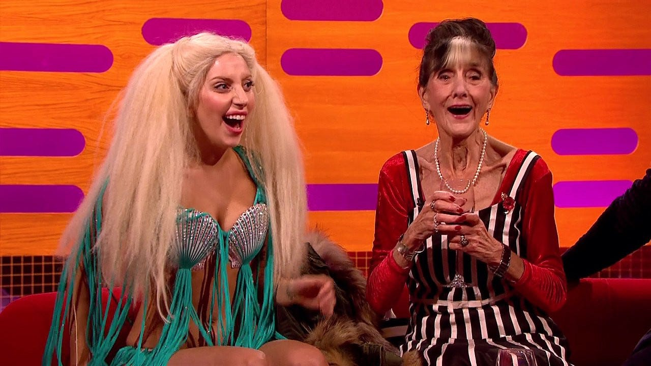Lady Gaga asked EastEnders June Brown to go clubbing but she was busy |  Metro News