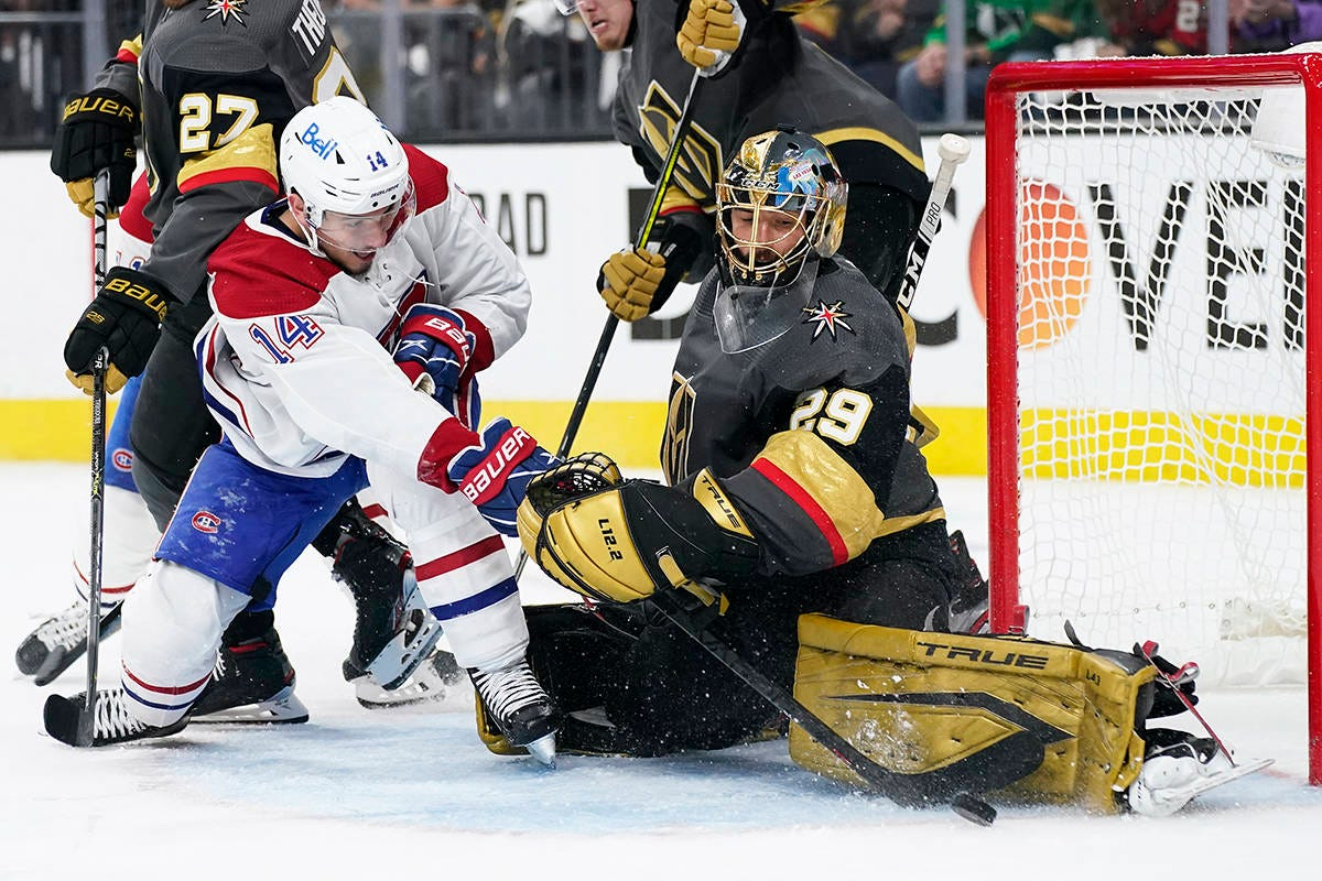 Habs hang on to edge Vegas 3-2, even NHL semifinal series at a game apiece  – Vancouver Island Free Daily