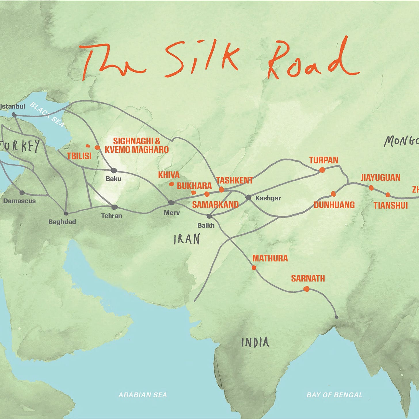 The Silk Road: The Route That Made the World - The New York Times