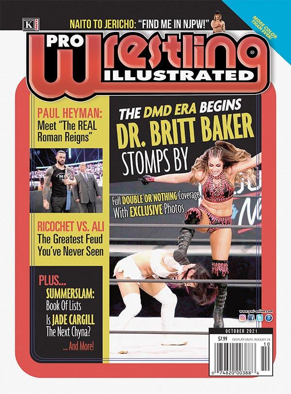 Pro Wrestling Illustrated, October 2021 issue
