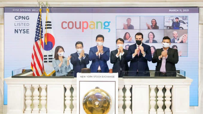 Coupang IPO: CPNG begins trading on the NYSE