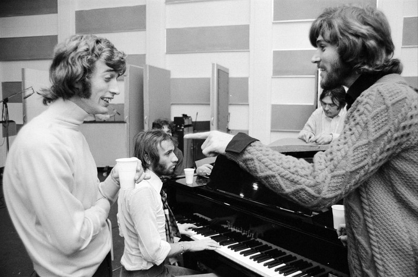The Way We Were: Opening up the Bee Gees' family album | Bee gees, Barry  gibb, Family album