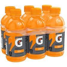 Amazon.com : Gatorade Thirst Quencher, Orange, 12 Fl Oz, Pack of 6 :  Grocery & Gourmet Food