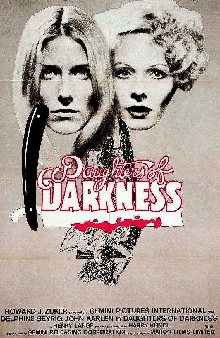 Daughters of Darkness (1971) - OLD MOVIE CINEMA