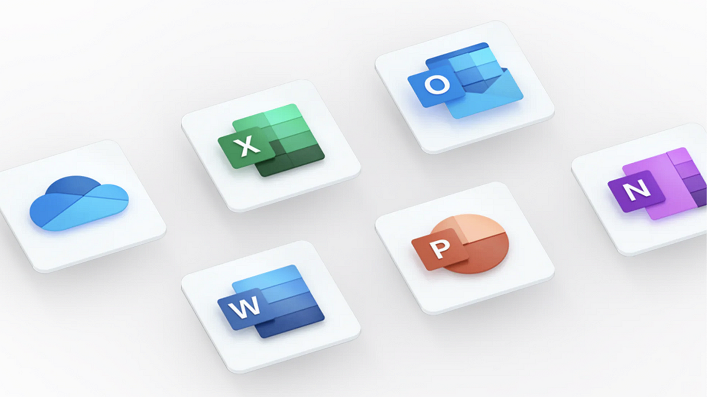 Microsoft's Office Suite Icons