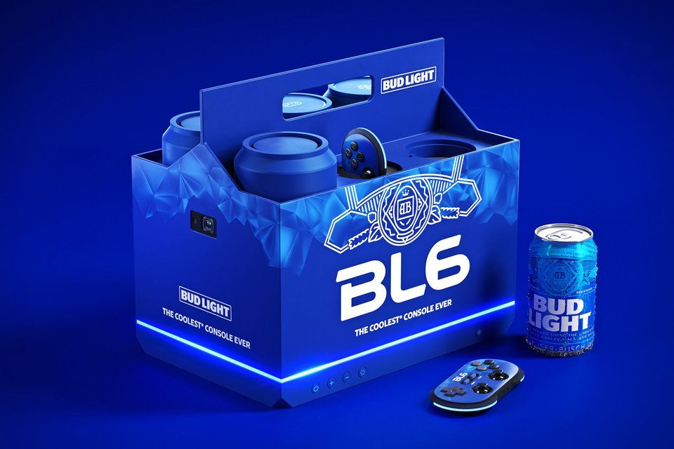 BL6 Bud Light gaming console