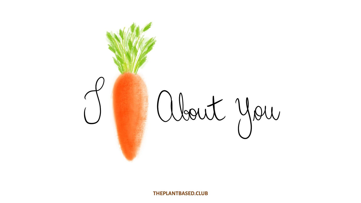 I Carrot About You Illustration