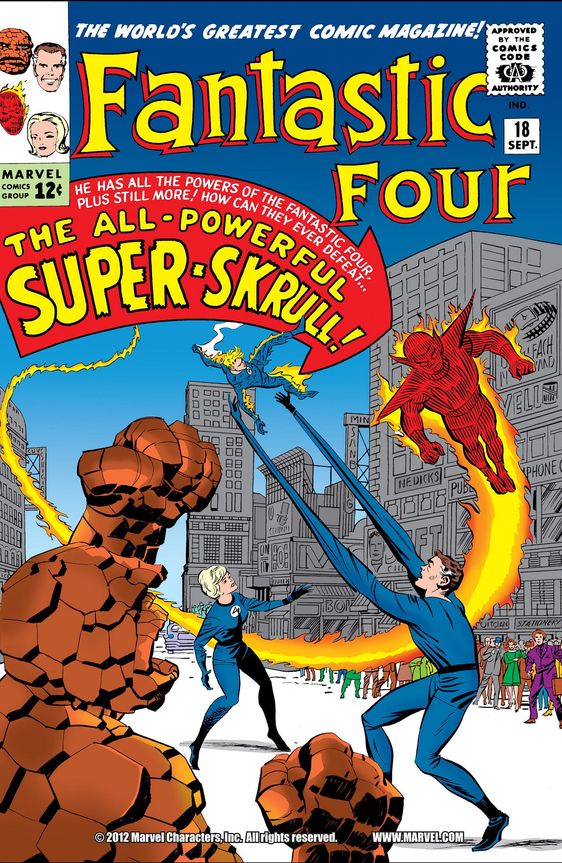 Fantastic Four Vol 1 18   Marvel Database   Fandom