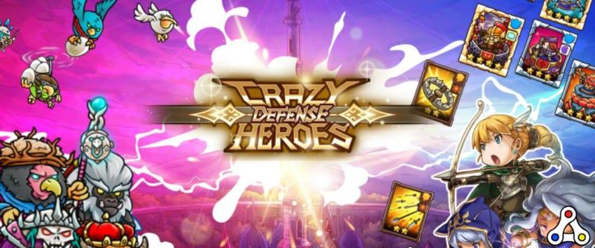 crazy defense heroes character artwork