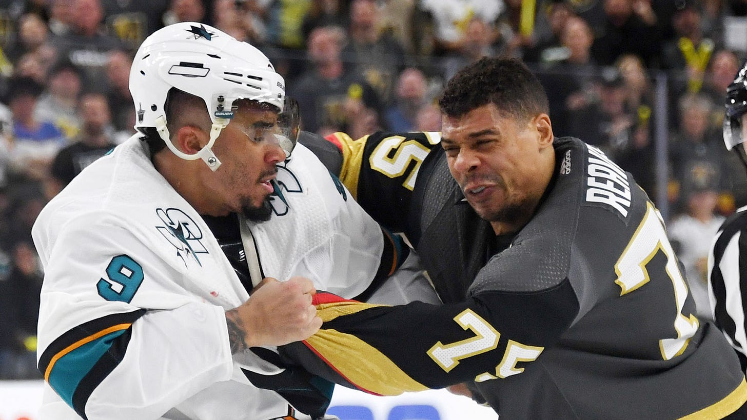 Evander Kane compares Ryan Reaves to the 'Muffin Man' | Sporting News Canada