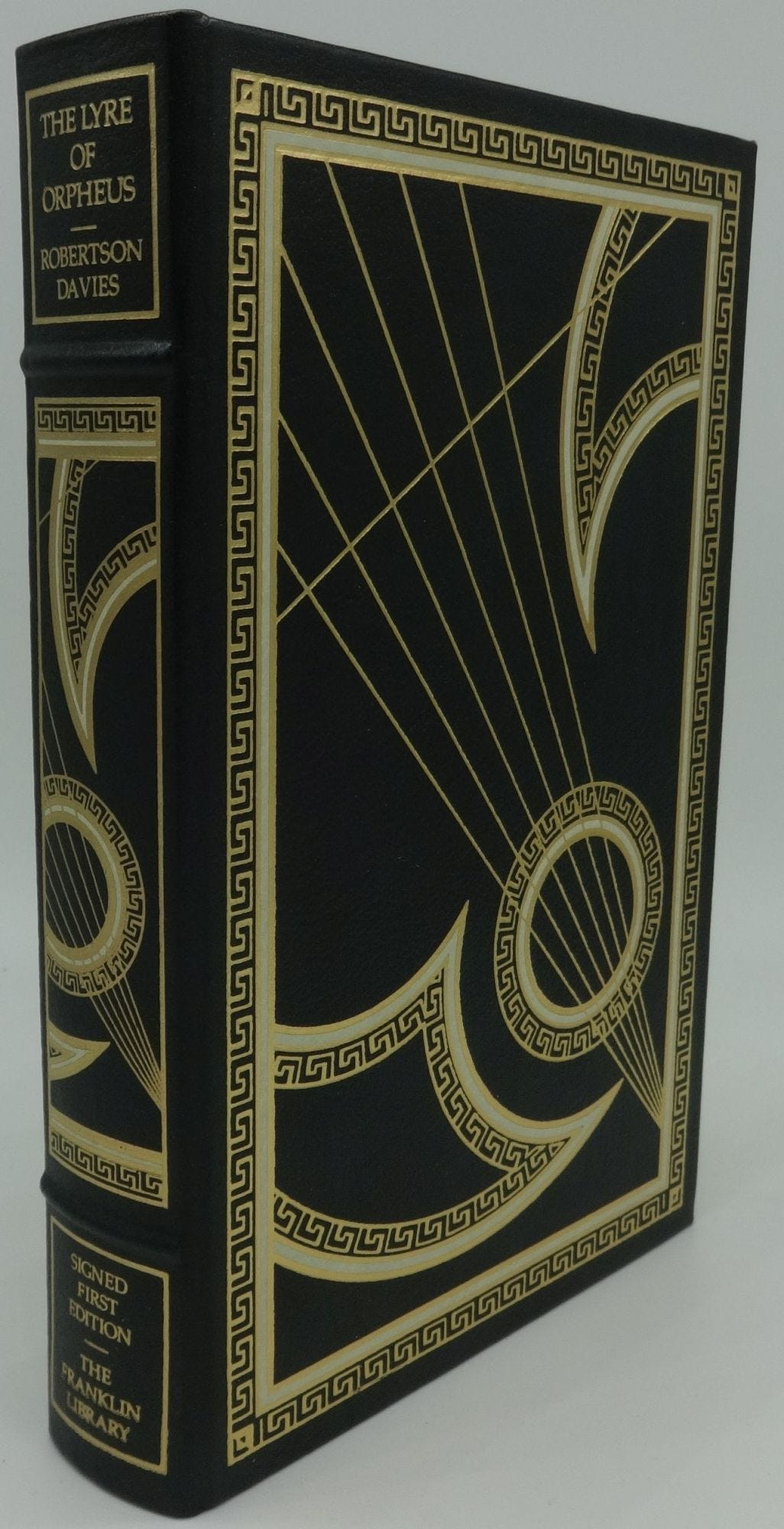 THE LYRE OF ORPHEUS   Robertson Davies, SIGNED