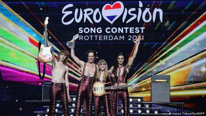 Italy wins 2021 Eurovision Song Contest following tight race   Music   DW    22.05.2021