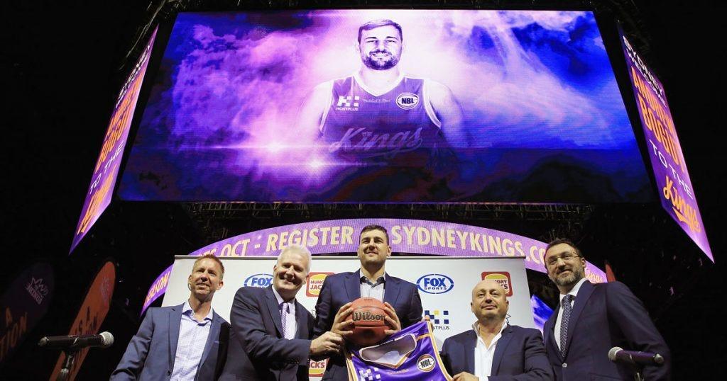Andrew Bogut Joins Sydney Kings