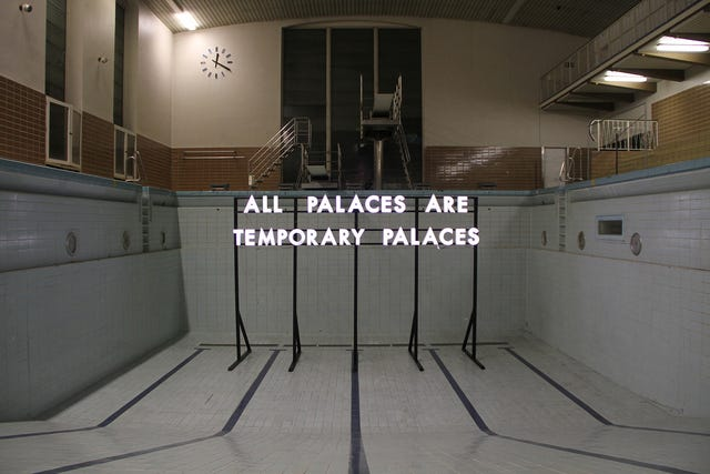 Robert Montgomery | All Palaces (2016) | Available for Sale | Artsy