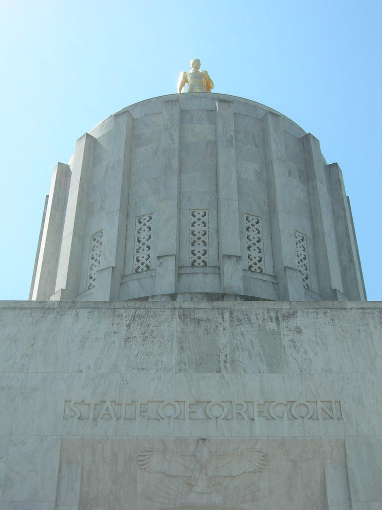 Oregon State Capitol Tower