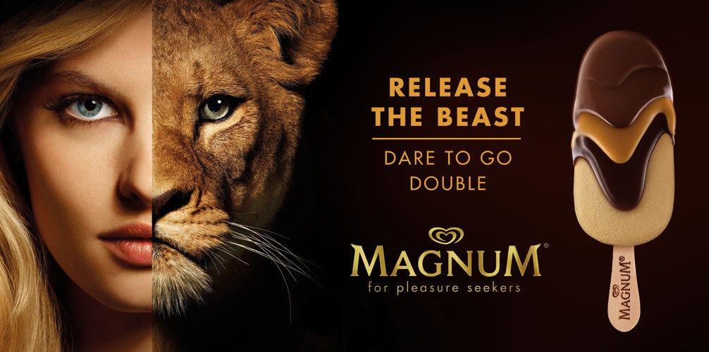 Image result for magnum ice cream ad