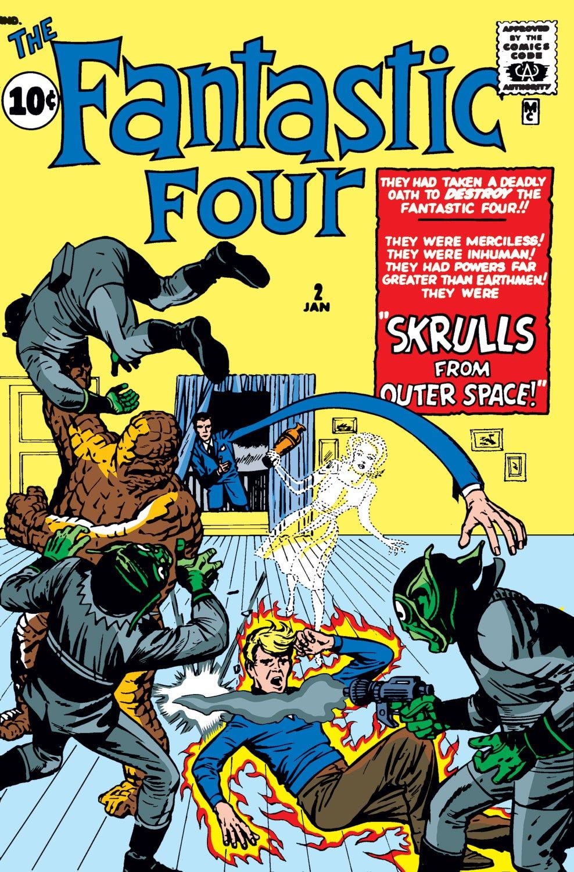 Fantastic Four (1961) #2   Comic Issues   Marvel