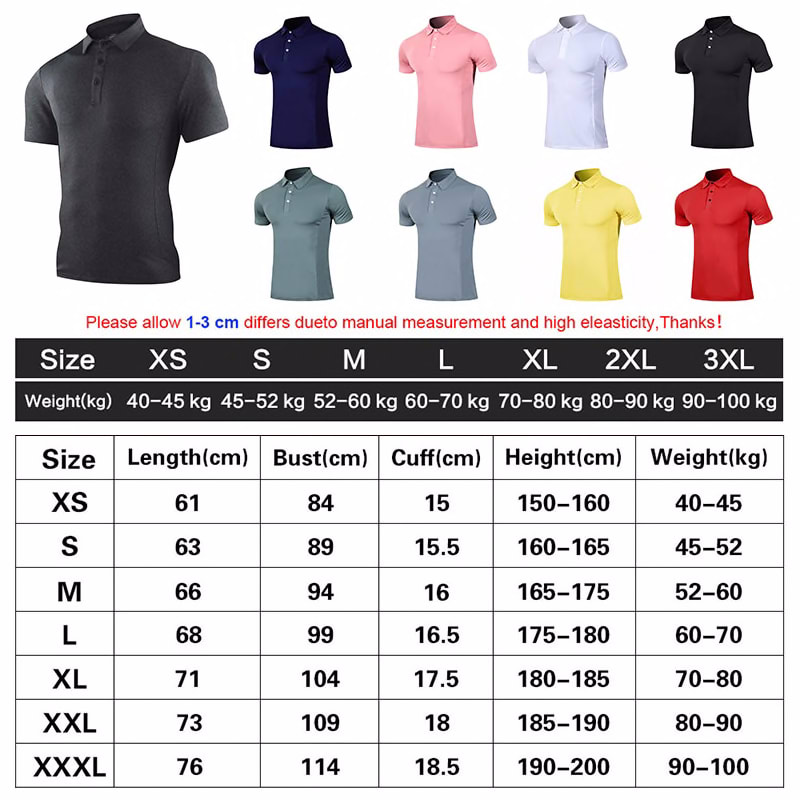 345729585 2020 Summer Golf Clothing Men S Golf Shirt Short Sleeve T Shirt Quick Drying Breathable Golf Wear Casual Sportswear Red Sports Entertainment Sportswear Accessories