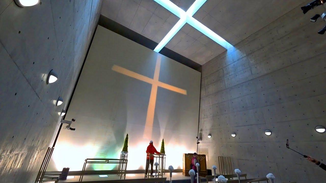 日本淡路島結婚勝地- 海の教堂Cappella Di Mare, Awaji Island (Japan) - YouTube