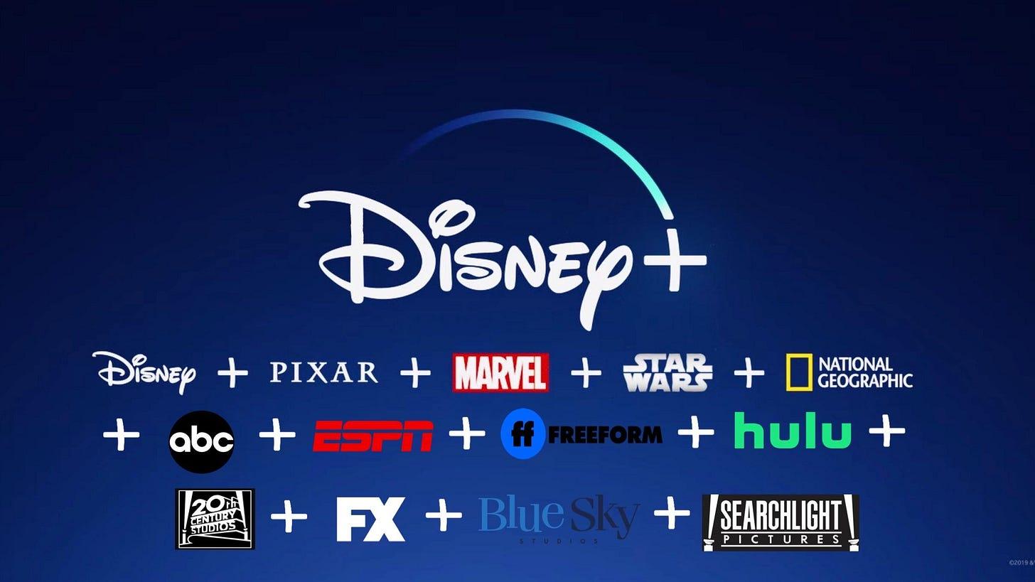 Disney SVoD companies