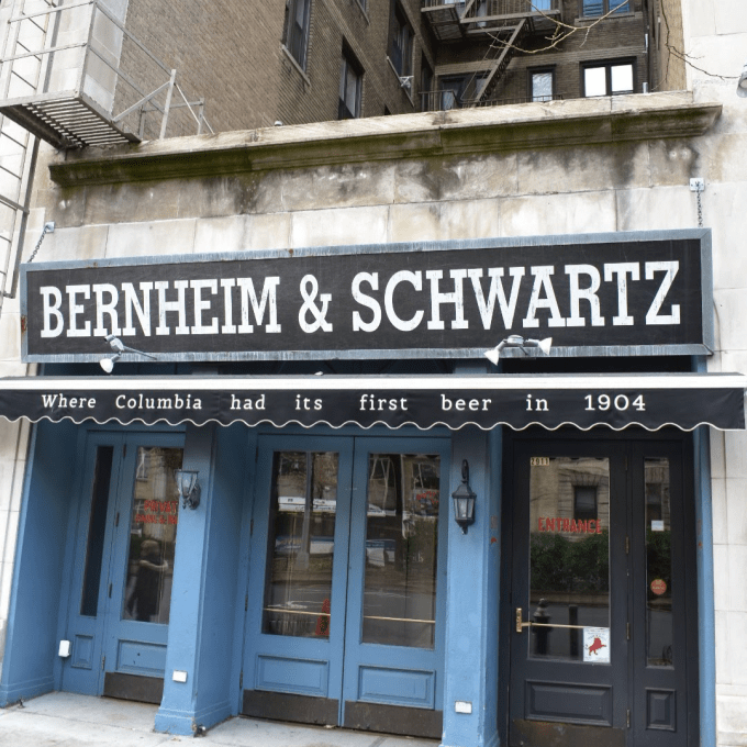 The storefront where the West End Bar used to operate in Manhattan's Upper West Side.