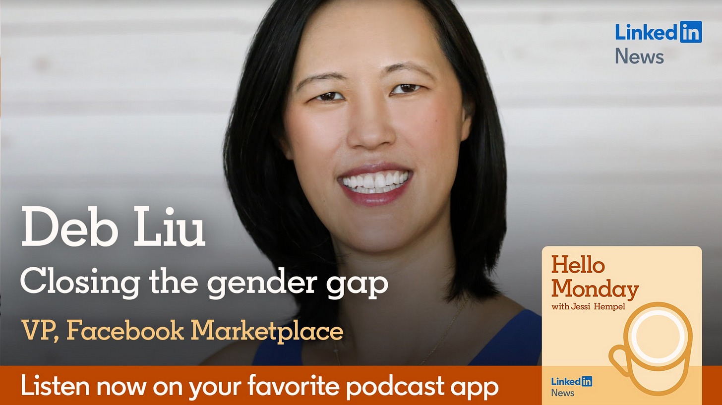https://podcasts.apple.com/us/podcast/closing-the-gender-gap-with-facebooks-deb-liu/id1453893304?i=1000502300971