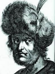 Drawing of False Dmitri II