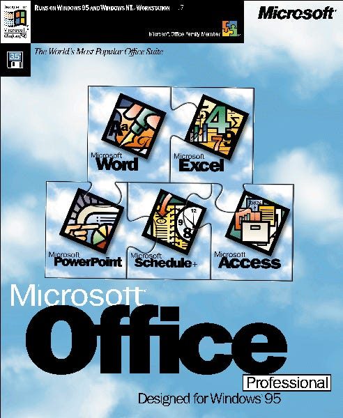 The Office 95 box