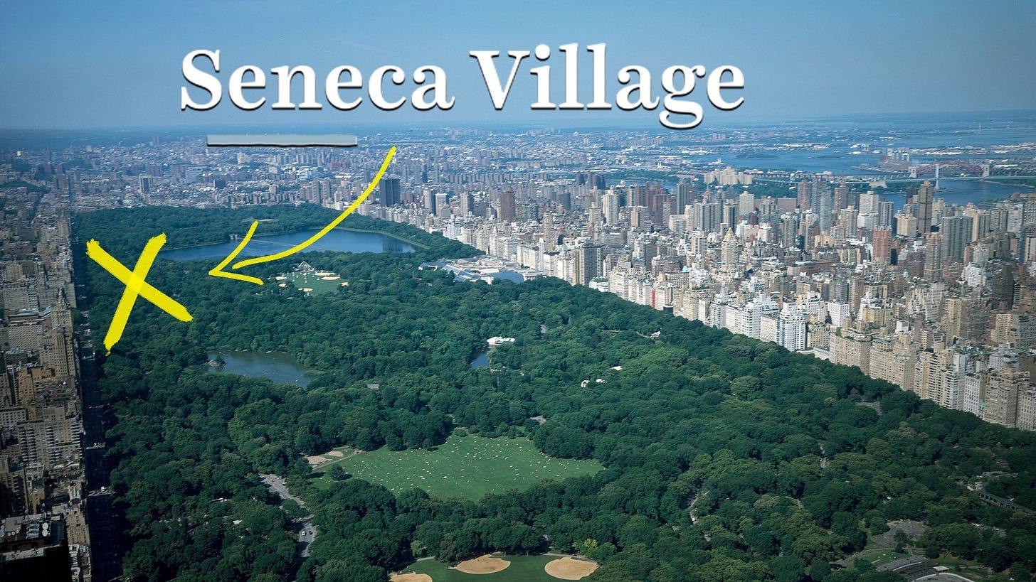 Seneca Village, Central Park