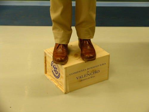 """Soap Box"" by Jim Budd (CC BY-NC-ND 2.0)"