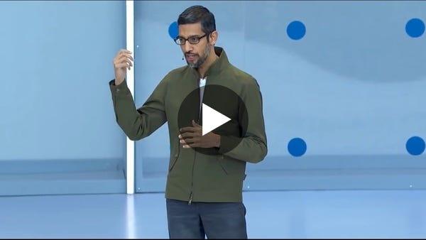 Google Duplex Demo from Google IO 2018 - YouTube