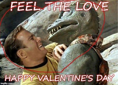 Image result for star trek valentine