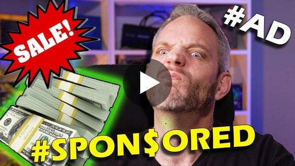 This is how our Sponsorship's work... and how they DON'T!