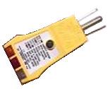 LED outlet tster