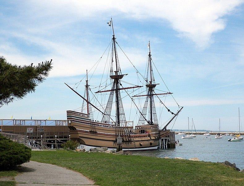 File:Mayflower II at Plymouth Harbor.jpg