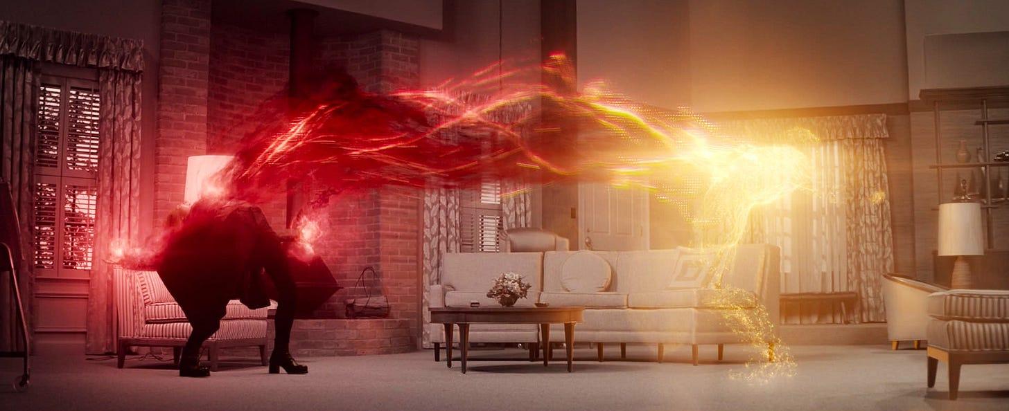Wanda's powers bringing forth her desires