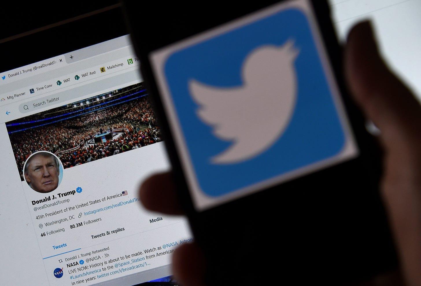Section 230: Donald Trump vs. Twitter