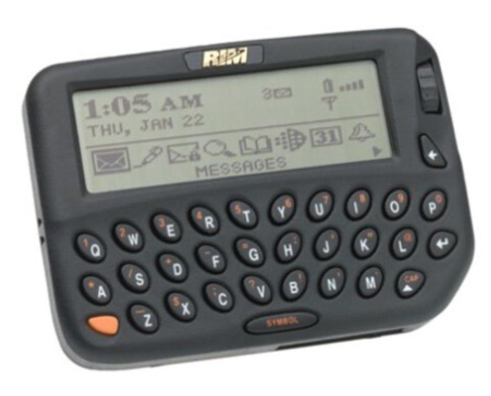 Photo of Blackberry 850