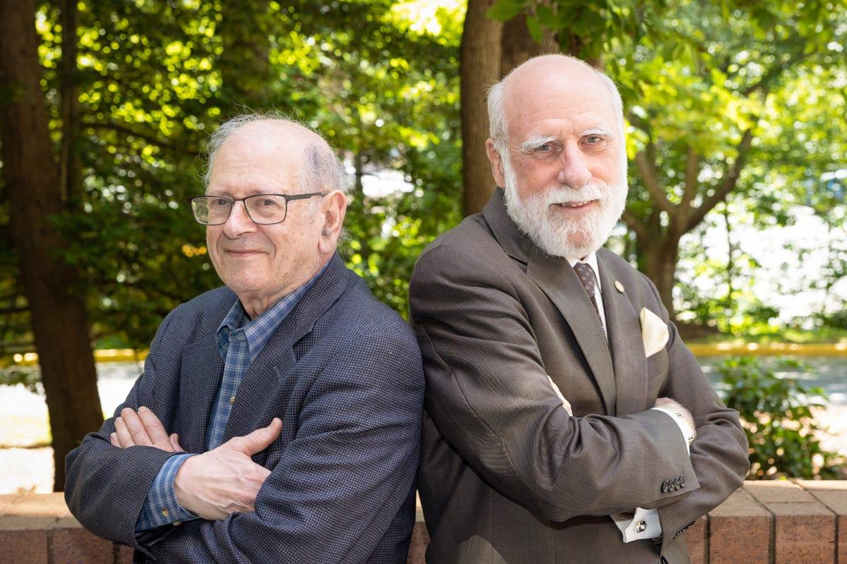 Bob kahn and Vint Cerf