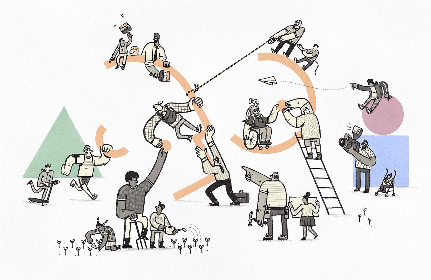 Illustration by Tony Johnson