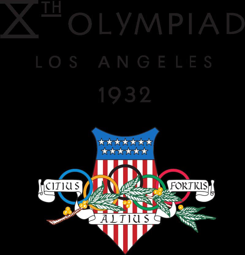 1932 Summer Olympics logo.svg