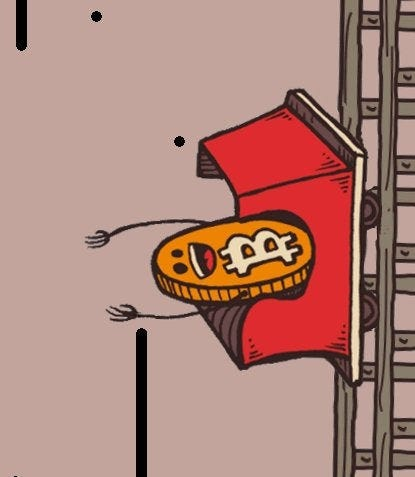 Image result for bitcoin rollercoaster up