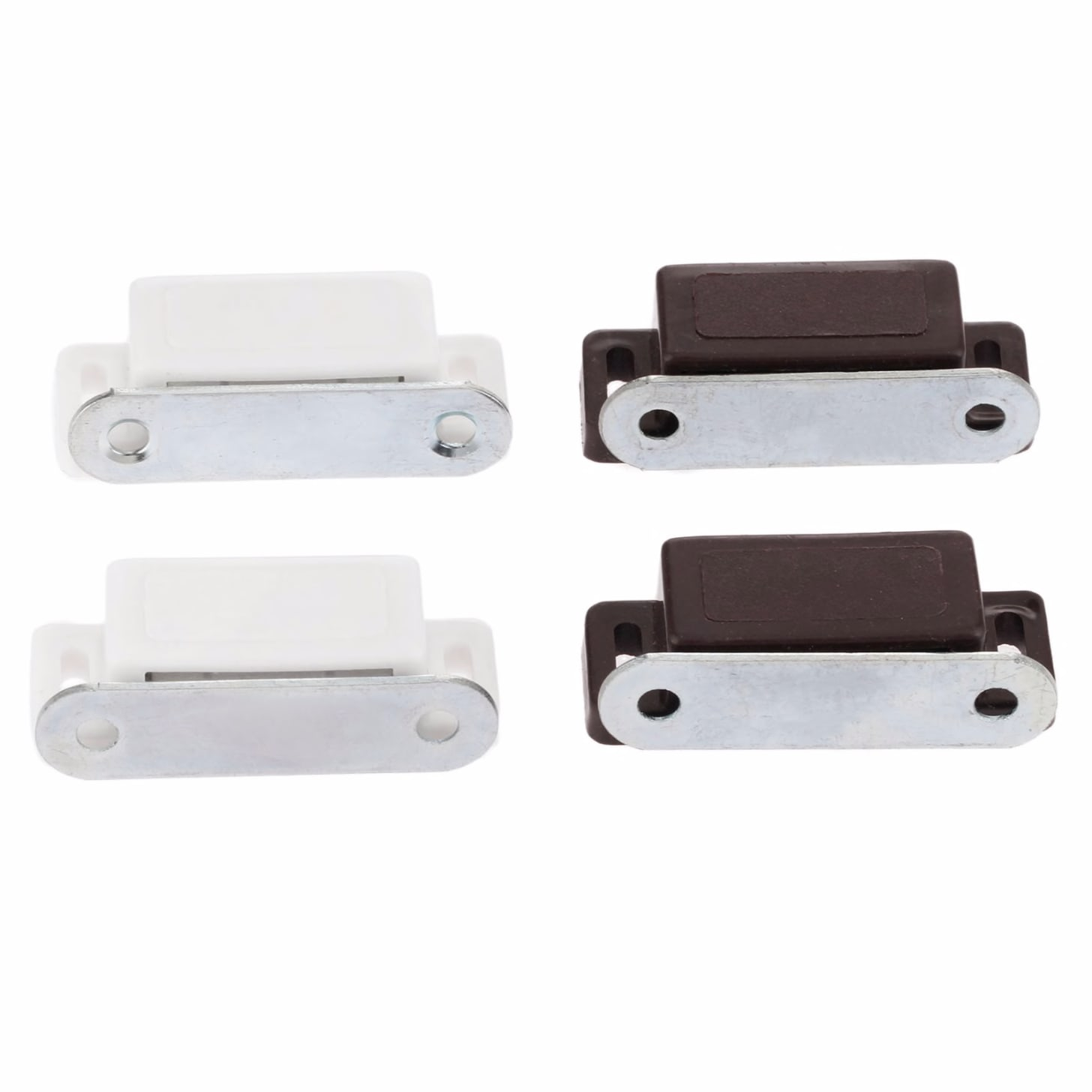 1101699149 2pcs Kitchen Cupboard Wardrobe Magnetic Cabinet Latch Catches 46 16mm Magnetic Door Catches Furniture Hardware With Screws Home Improvement Hardware
