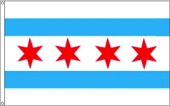 Image result for chicago flag
