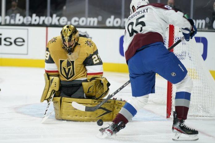 Marc-Andre Fleury's shutout leads Vegas Golden Knights past Avalanche |