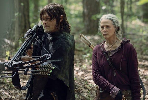 the walking dead daryl carol spinoff AMC series order