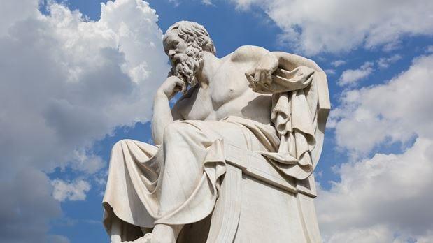 Socrates, Leonidas Drosis (Adacemy of Athens) | Trip2Athens.com