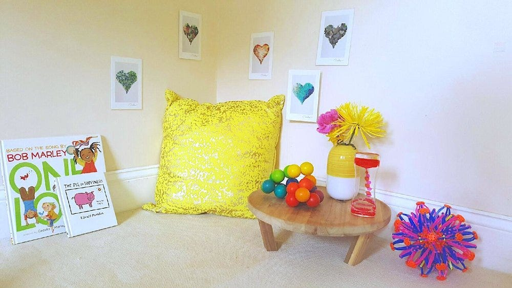 Simple Ways to Create a Montessori-Inspired Peace Corner at Home — A Little  Room 2 Grow   Montessori Home Consulting